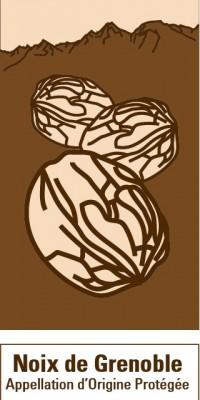 Logo route de la noix de Grenoble